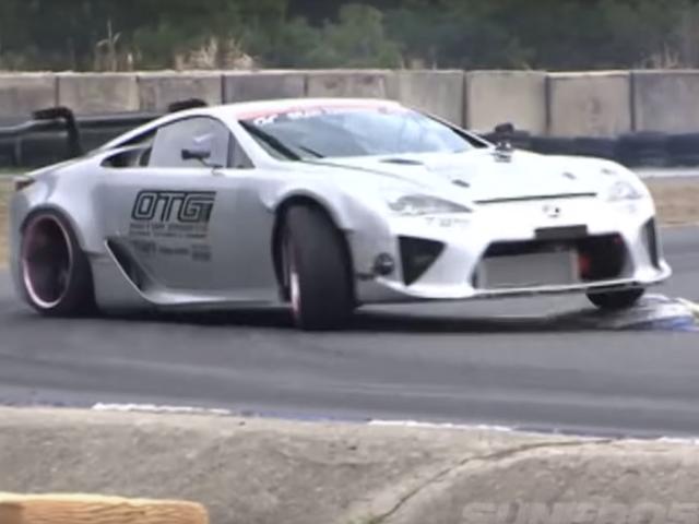 Building the NASCAR-Powered Lexus LFA Drift Car Wasn't Easy
