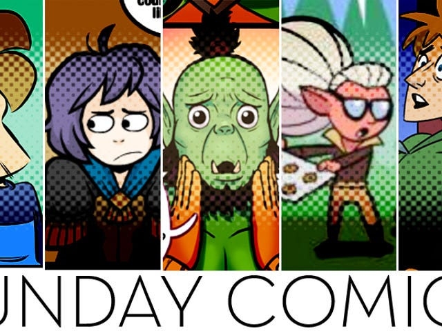 Sunday Comics: OK Boomer