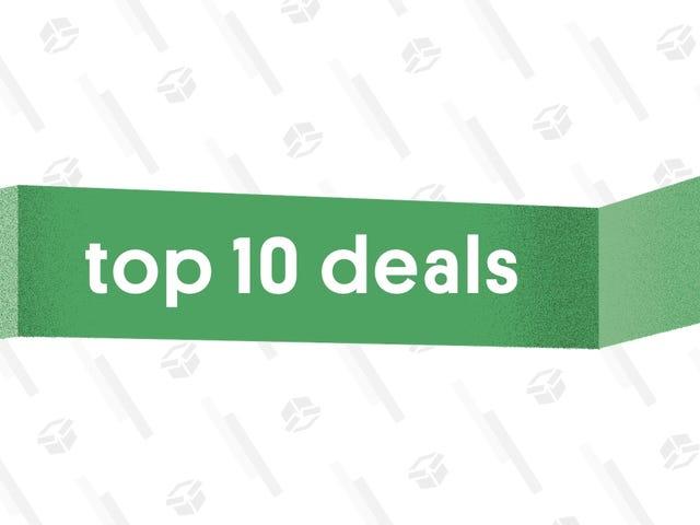 De 10 bästa erbjudandenen av 6 augusti 2018