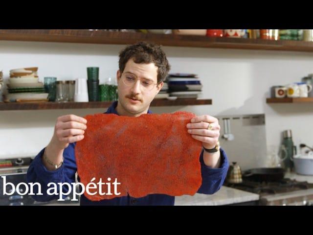 Utilisez cet excès de SCOBY pour créer des roll-up funky et acidulés aux fruits