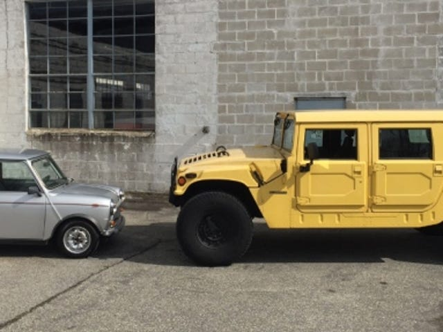 Kiểm tra so sánh: Bản gốc Mini so với Bản gốc Hummer