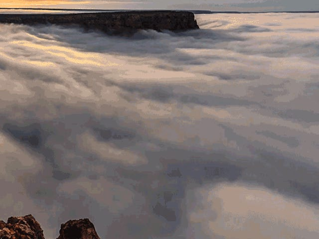 Watch the Grand Canyon Fill With Clouds in This Timelapse of a Rare Weather Phenomenon