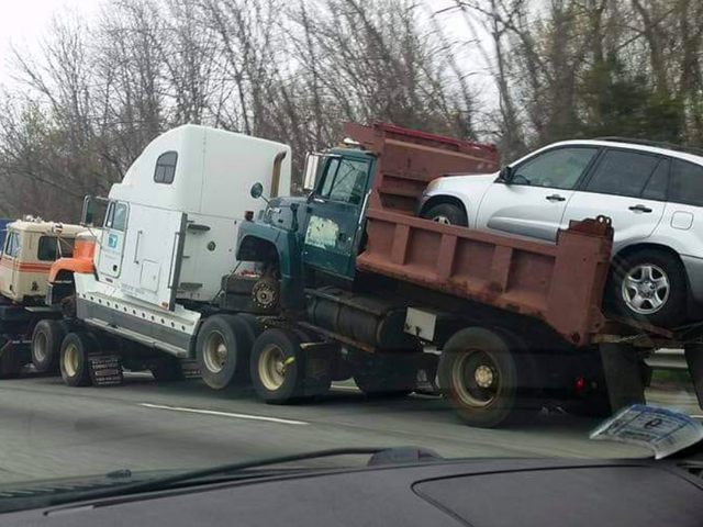 Check Out This Bizarre Towing Setup