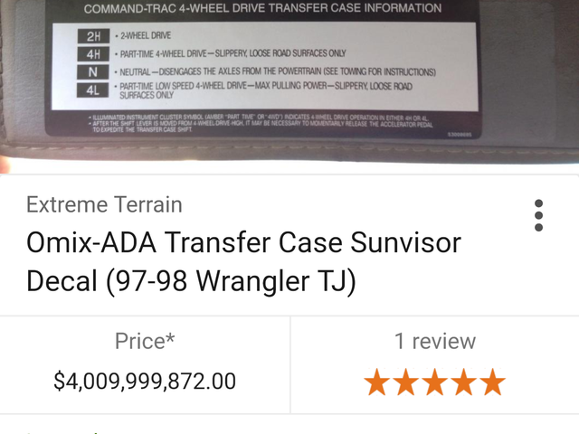 Det er utrolig billigt