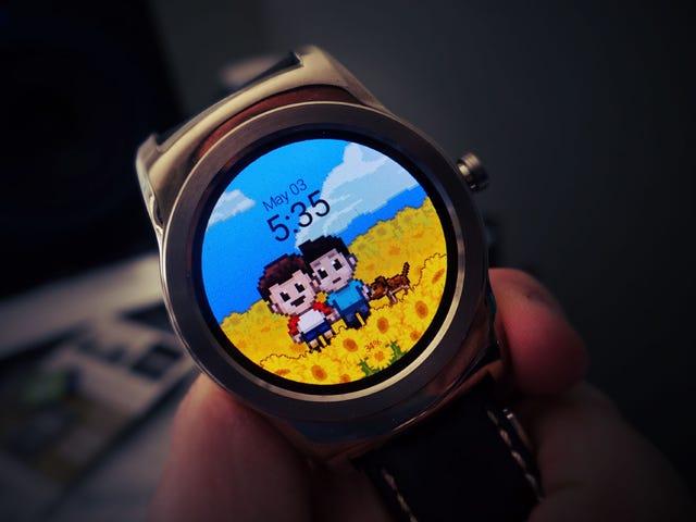 如何安装和制作自定义Android Wear Watch Faces