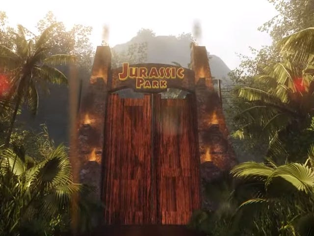 Jurassic Dream Lets You Peacefully Explore A CryEngine Jurassic Park