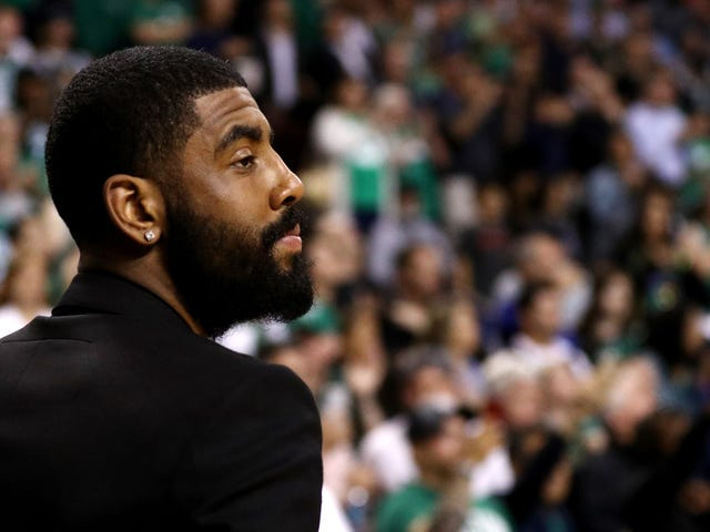 Kyrie Irving Missed Game 7 Due To Corrective Nasal Surgery