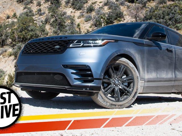 The 2018 Range Rover Velar Is A Refreshingly Original Take