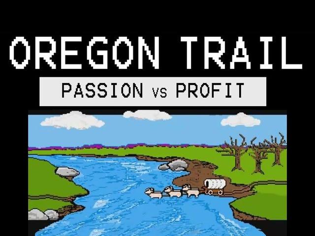 Dette er den ikke så hemmelige historien om hvordan Oregon Trail over hele verden