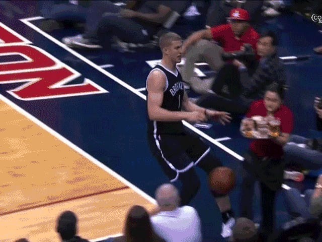 Mason Plumlee Commits Ultimate Party Foul, Wrecks Entire Tray Of Beers