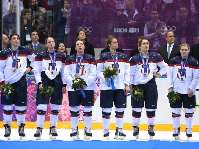 Đội tuyển Hockey Nữ Hoa Kỳ để Tẩy chay giải vô địch thế giới Trừ phi Các Trận đấu Hockey Hoa Kỳ hỗ trợ