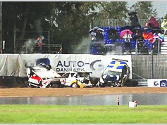 Citroen DS3 Cup, that's not gone well