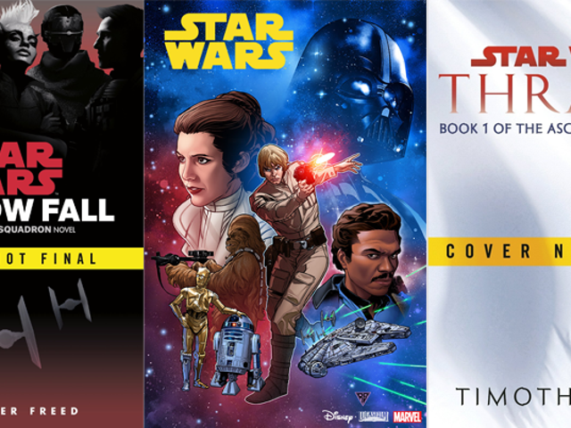 So Many Goddamn Star Wars Books and Comics Just Got Announced at New York Comic Con