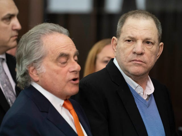 Harvey Weinstein Indicted by Grand Jury on Rape and Sex Act Charges