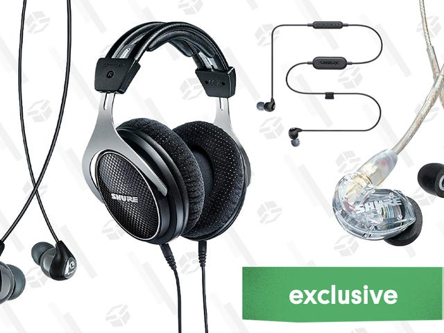 Save 20% On A Selection of Shure Headphones [Exclusive]