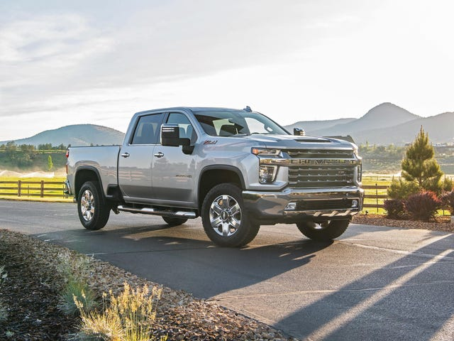 GM Recalls More Than 550,000 Trucks Over Potential For Seat-Belt Systems To Cause Fires
