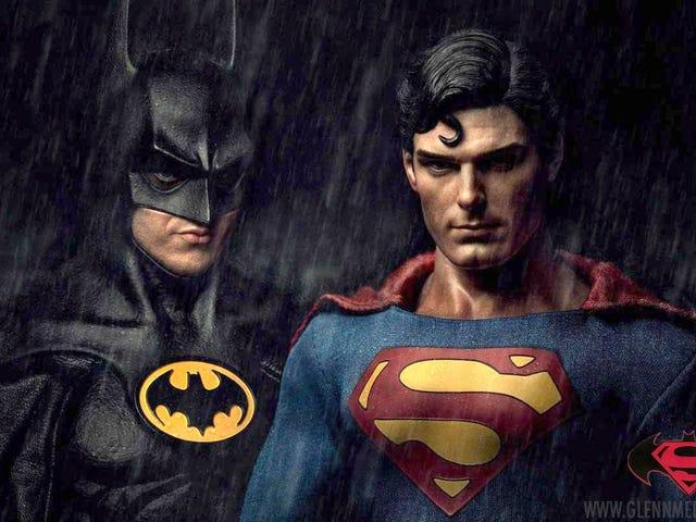Batman de Michael Keaton v Superman de Christopher Reeve: Mash-Up of Justice