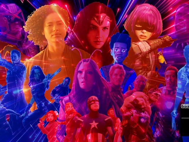 10 bộ phim siêu anh hùng hay nhất trong thập kỷ qua