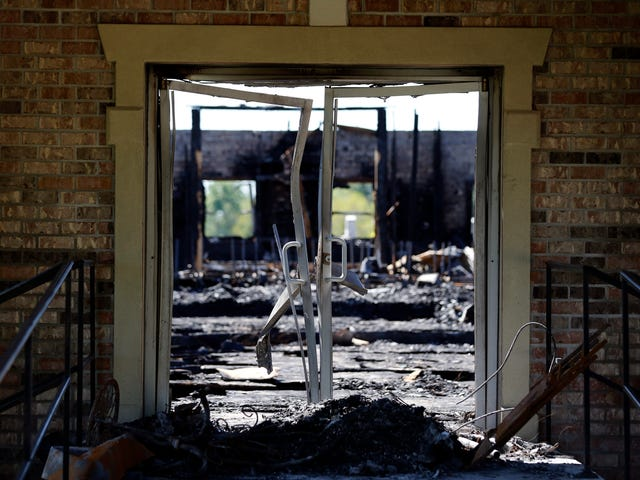 Suspect Charged in String of Black Church Fires in Louisiana Identified as Son of Local Deputy Sheriff