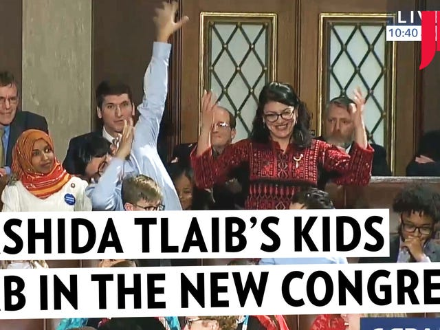Kids Dab di Rashida Tlaib nel New Congress