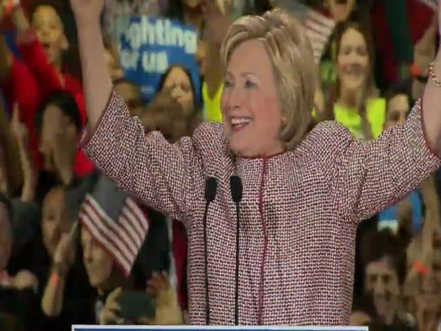 Hillary Clinton è la vincitrice proiettata della Primaria Democratica di New York