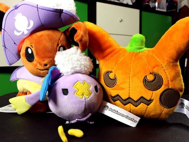 Ein sehr Pokémon Plushie Halloween