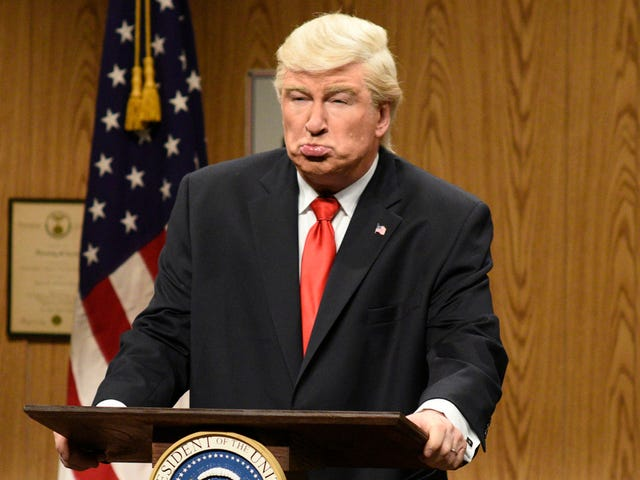 Alec Baldwin says Trump doesn't deserve better than his shitty impression