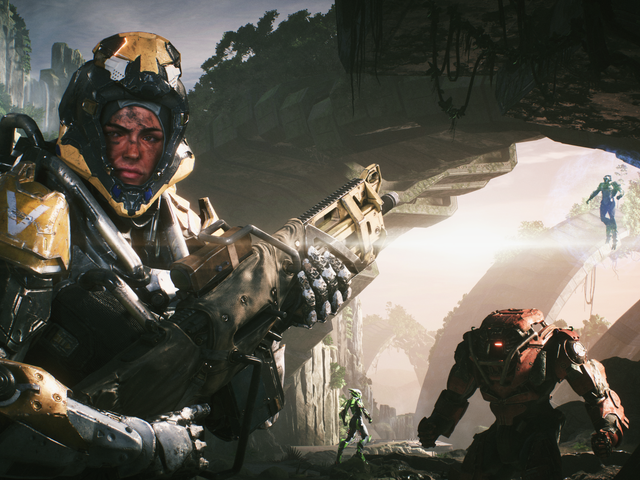 A few hours in, Anthem feels like a very lonely multiplayer game
