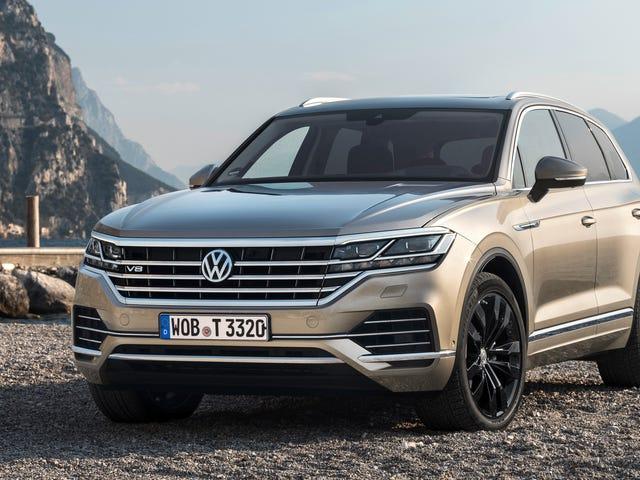 De nieuwe Volkswagen Touareg V8 TDI heeft meer dan 600 Lb-Ft aan koppel