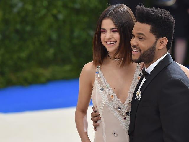 Selena Gomez och Weeknd har delat men inte över Justin Bieber