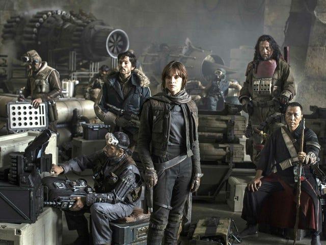 El final de Rogue One: A Star Wars Story no iba a ser tan trágico (incluso había una boda)