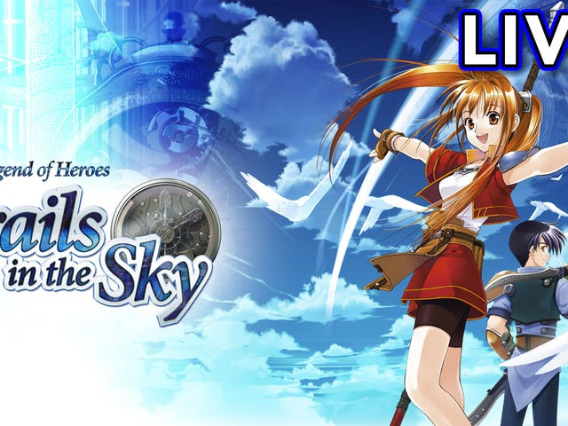 나는 The Legend of Heroes : Kotaku 's Twitch cha의 Sky Trail in the Sky를 계속 플레이하고 있습니다.
