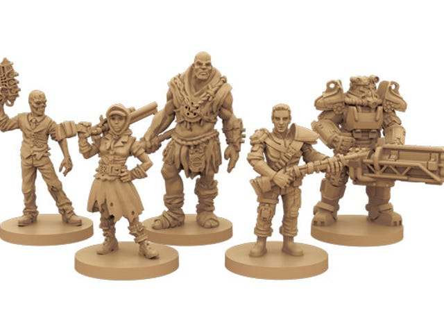 Fallout's New Board Game Looks Neat