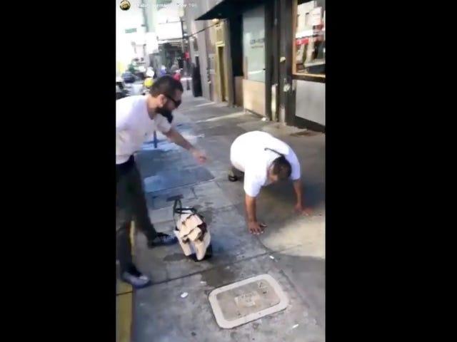 UFC Champion Khabib Nurmagomedov Posts Gross Video Mocking Homeless People
