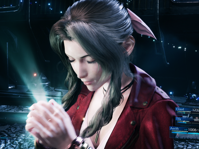 Aerith Is My Favorite Party Member In Final Fantasy VII Remake