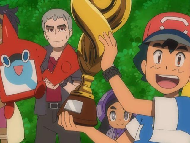 Ακούστε την πρωτότυπη φωνή του Ash Ketchum Συγχαρητήρια σε μια Long-Expected Pokémon League Win
