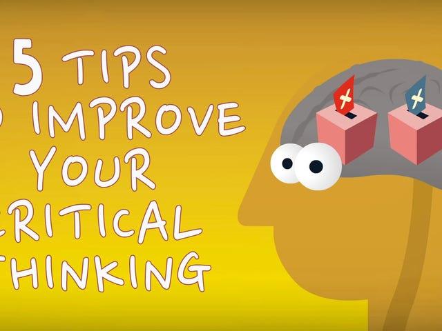 Verbessern Sie Ihr kritisches Denken mit diesem fünfstufigen Prozess