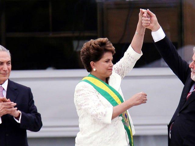 Η άκρη της δημοκρατίας προσφέρει ένα εξωφρενικό, αλλά αδύνατο αστάρι στις πρόσφατες πολιτικές δυσκολίες της Βραζιλίας