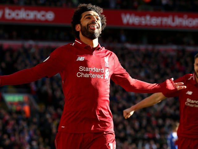 Mohamed Salah Is Smiling Again