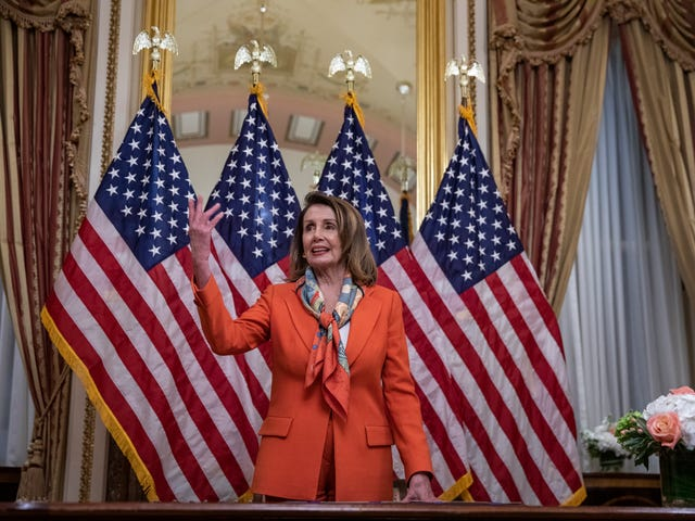 Nancy Pelosi on Attorney General Barr: 'He Lied to Congress. That's a Crime'
