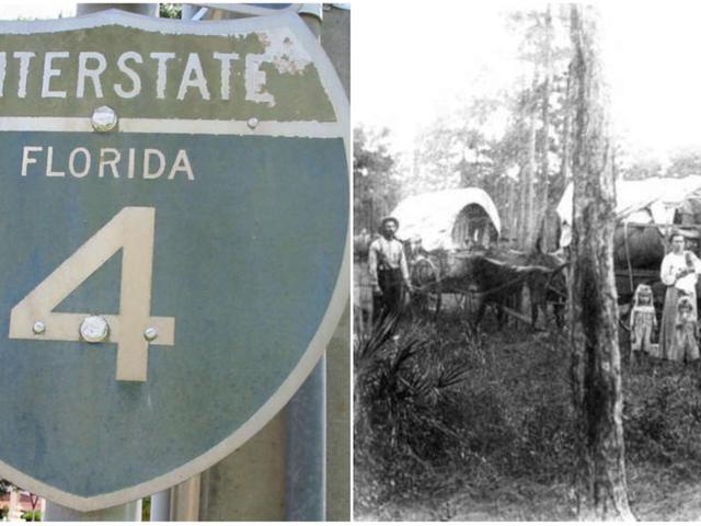 फ्लोरिडा के प्रेतवाले राजमार्ग: अंतरराज्यीय 4, ताम्पा से डेटोना तक