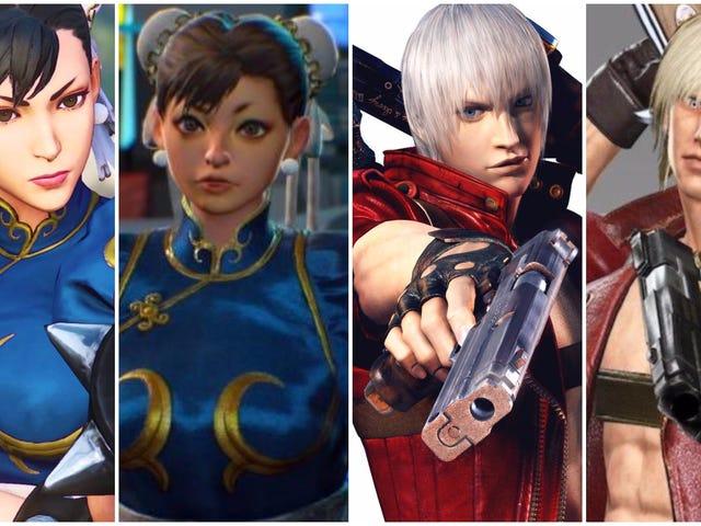 Chun-Li En Dante Kijk Vreemd Nu, Capcom