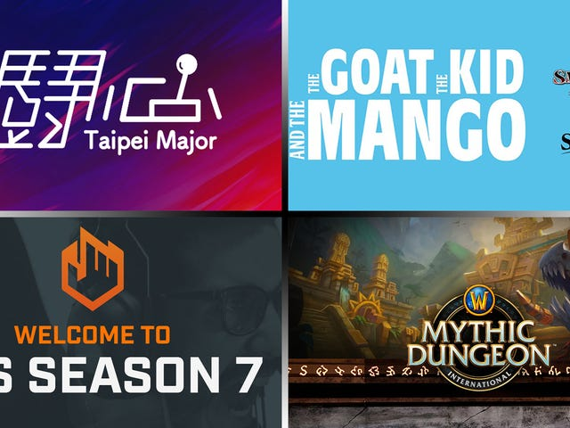 Thể thao điện tử cuối tuần - Đài Bắc, ECS và Mang0