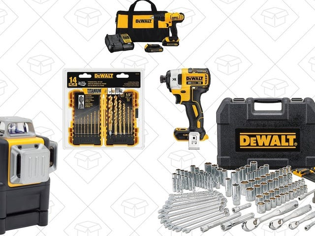 These Gift-Friendly DEWALT Tools Are Deeply Discounted Right Now