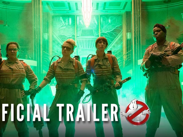 And (Finally!) Here's the Trailer for the NewGhostbusters