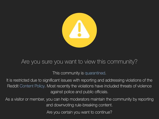 Reddit Quarantines Its Biggest Pro-Trump Community