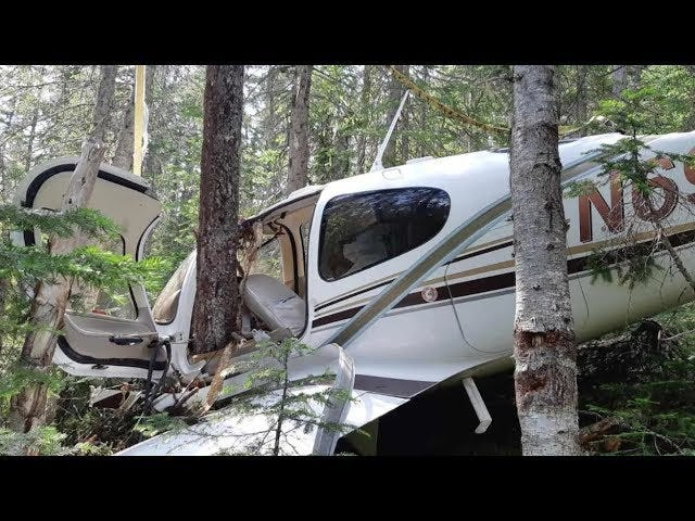 This vlog of a guy who crashed his plane in the woods and started filming is a found footage movie waiting to happen