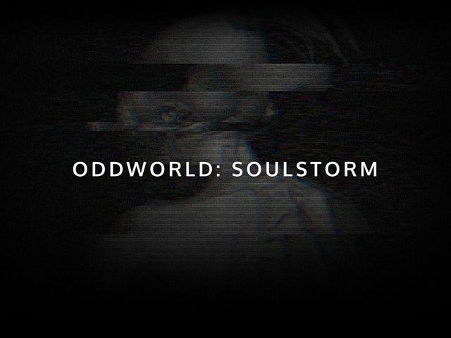 "Vi får endelig et nyt Oddworld-spil med Oddworld: Soulstorm, som ""optager fra Abe's gener"