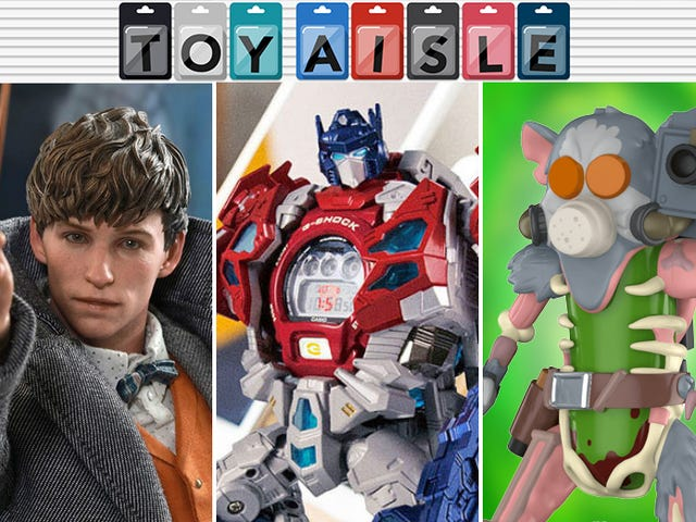 Optimus Prime Replaces the Matrix of Leadership With a Watch, and More of the Wildest Toys of the Week