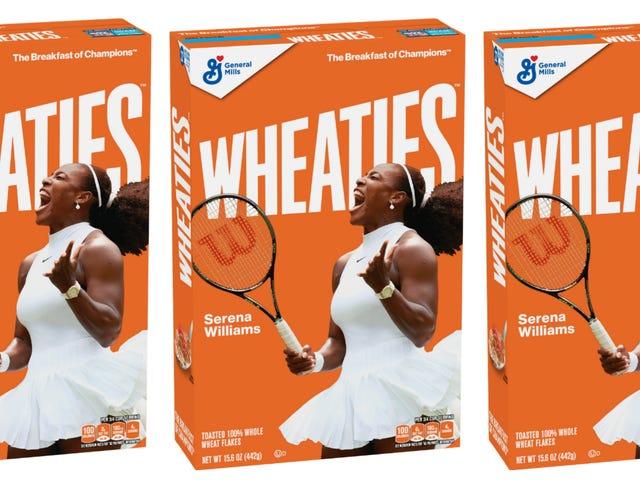Breakfast of Champions: Serena Williams Scores Her 1st Wheaties Box!
